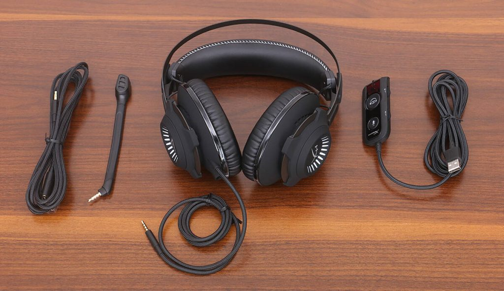 HyperX Cloud Revolver S Gaming Headset Accessories