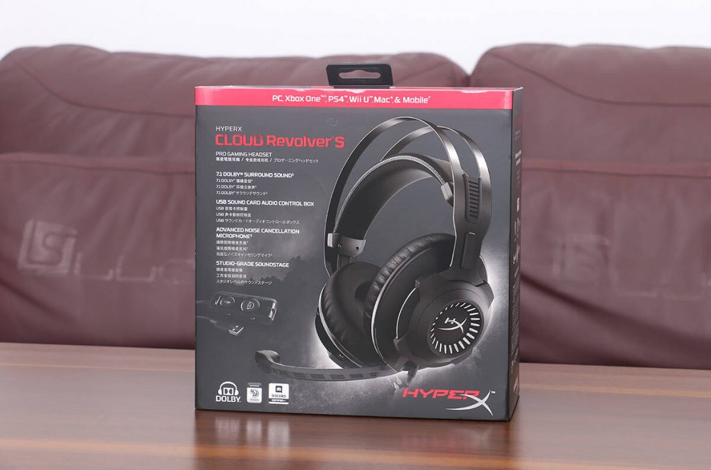 HyperX Cloud Revolver S Package