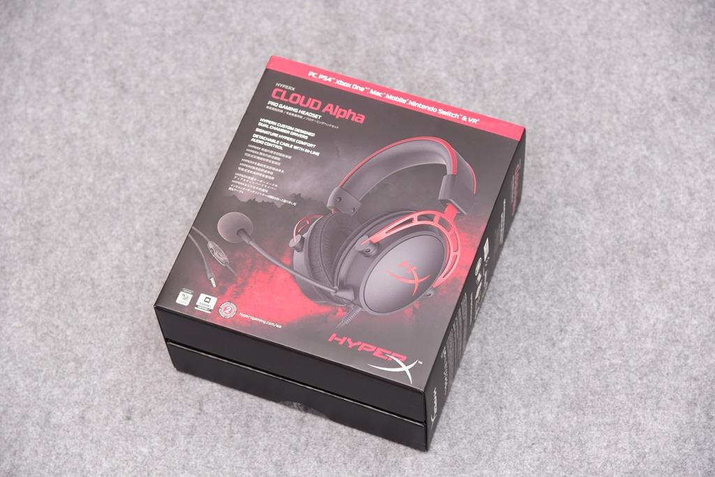 Unboxing HyperX Cloud Alpha