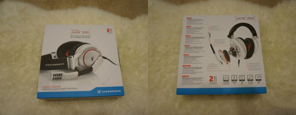 Sennheiser Game Zero Packaging