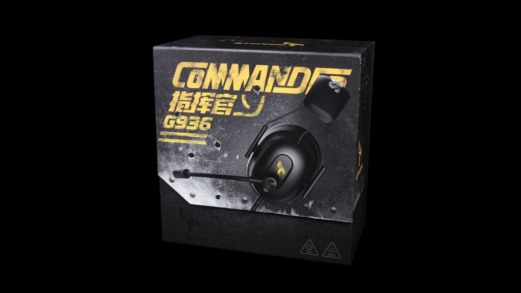 SOMIC G936 Front Packaging