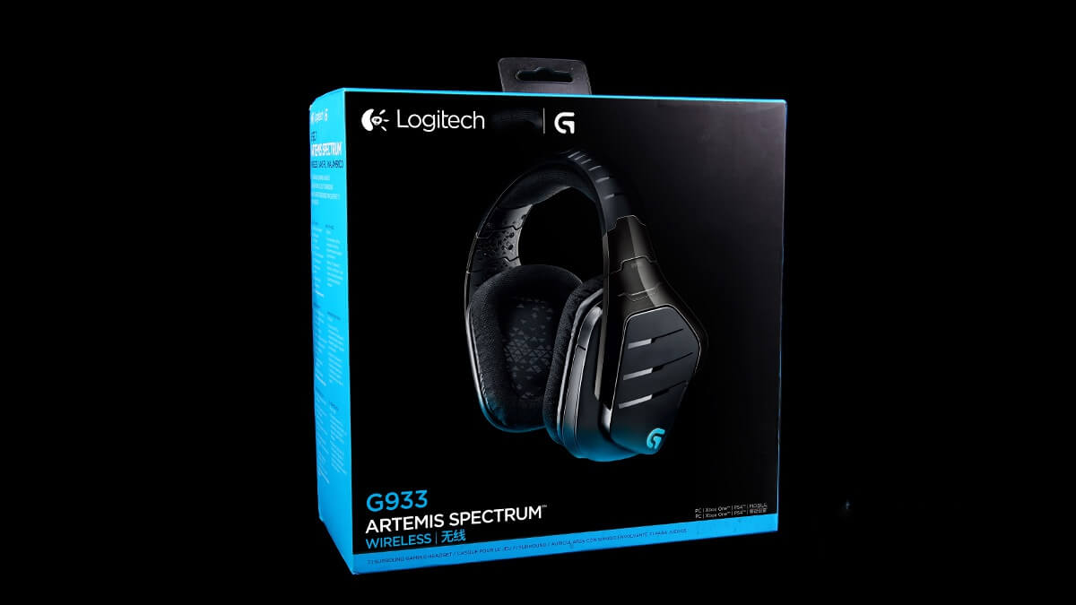 Logitech G933 Packaging
