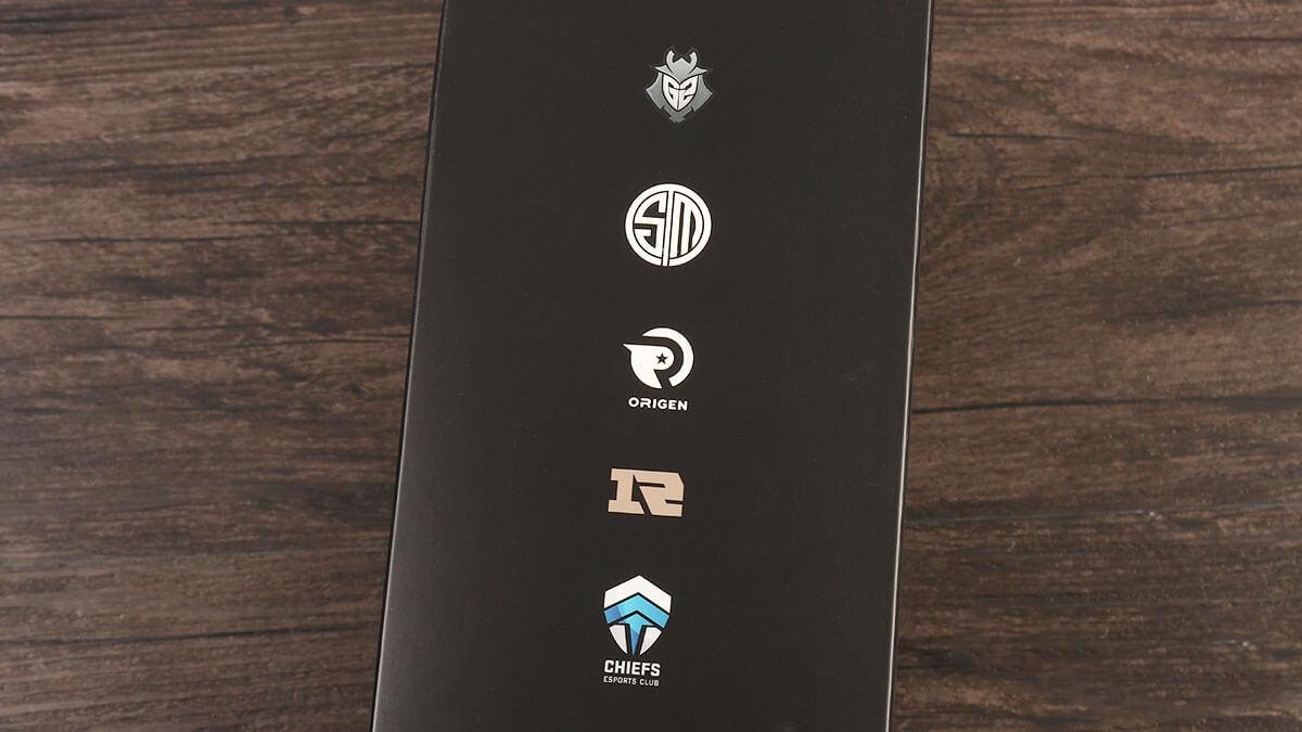 Side of Logitech G Pro X Packaging
