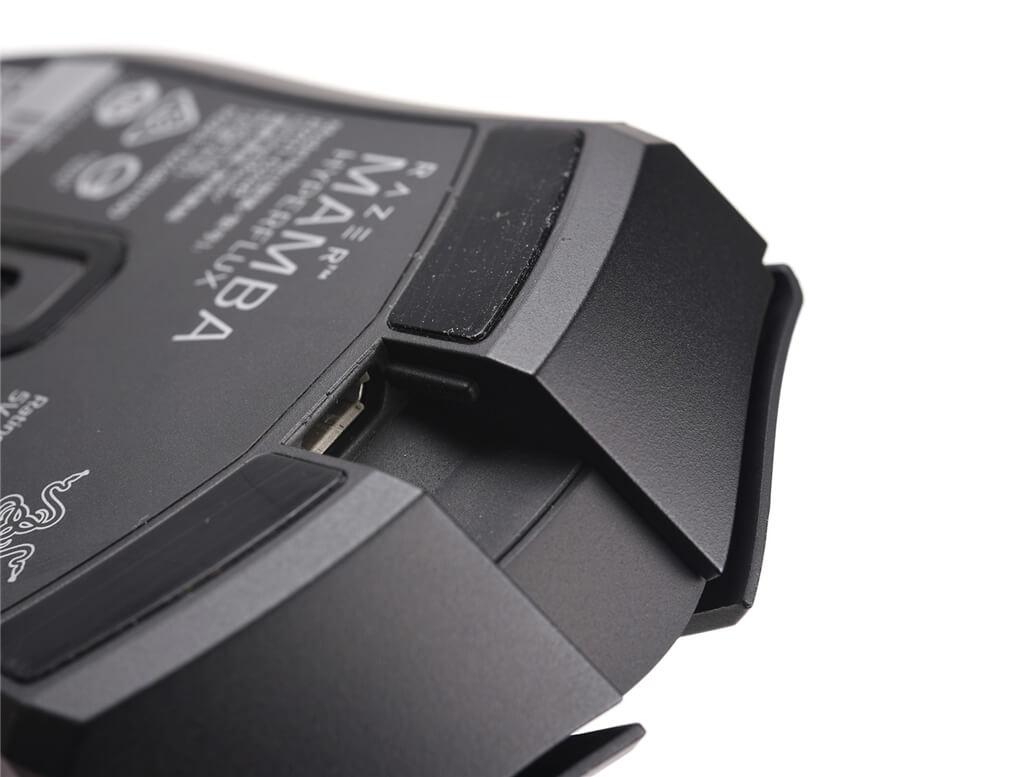 Razer Mamba HyperFlux Micro USB Port