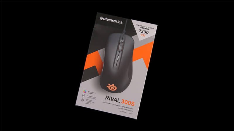 Steelseries Rival 300S Packaging