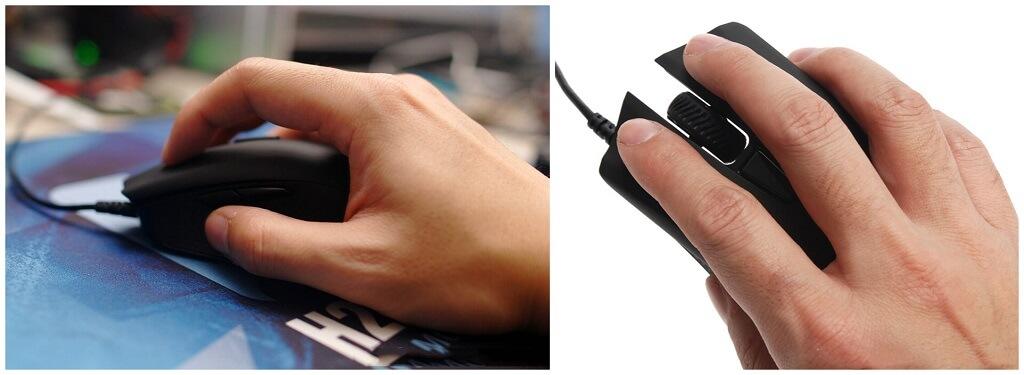 CORSAIR Harpoon Claw VS Palm Grip