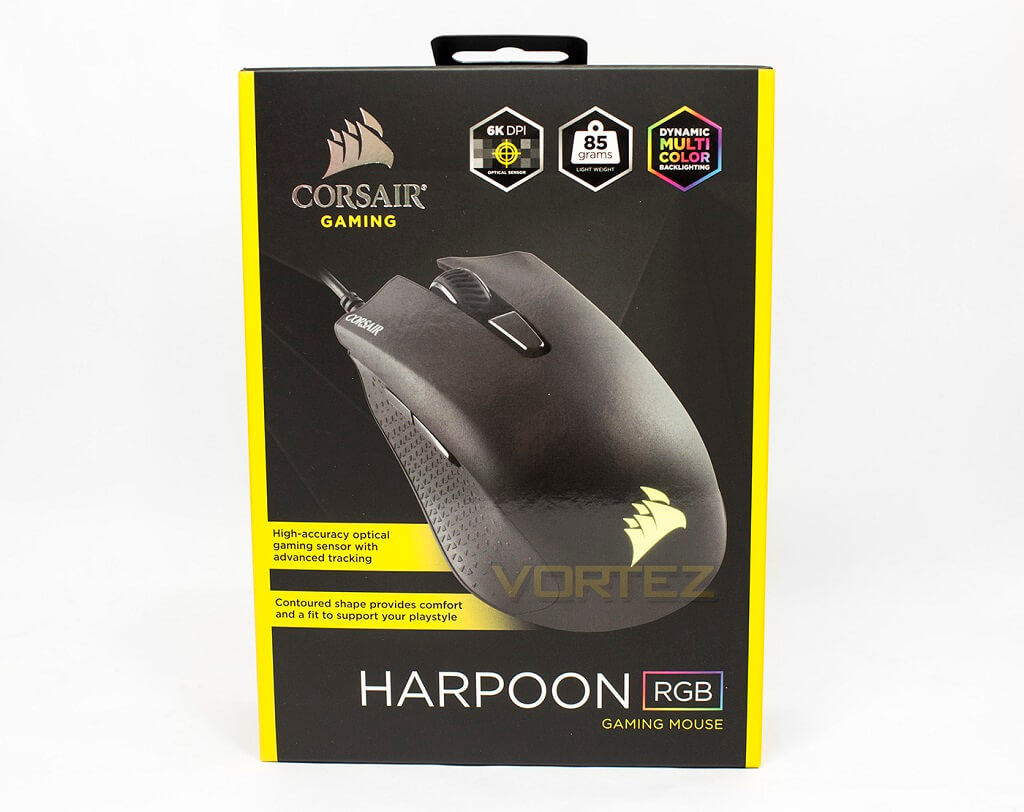 CORSAIR Harpoon RGB Packaging