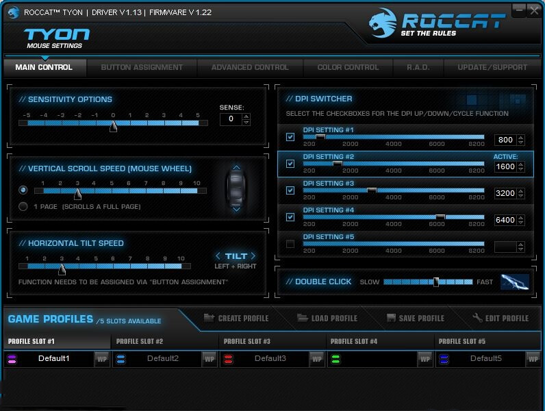 Roccat Tyon Driver Software
