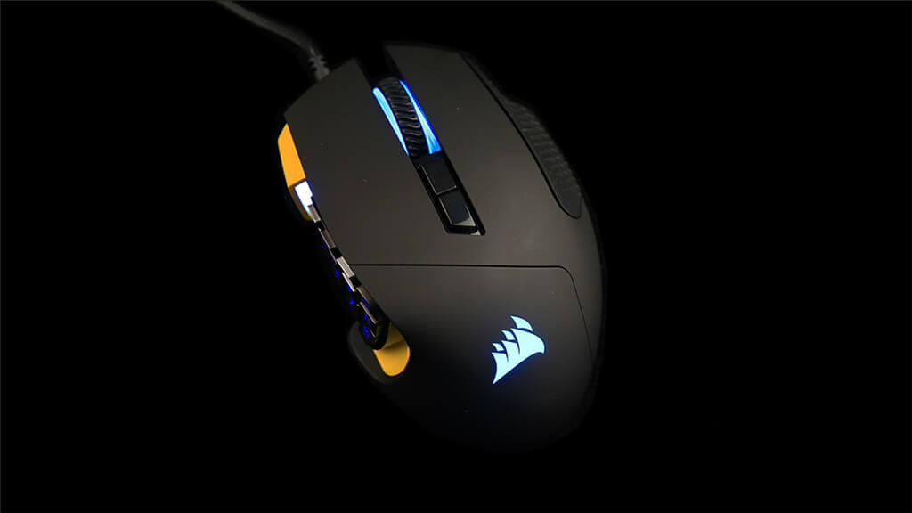 Corsair Scimitar Pro RGB Lighting Effect