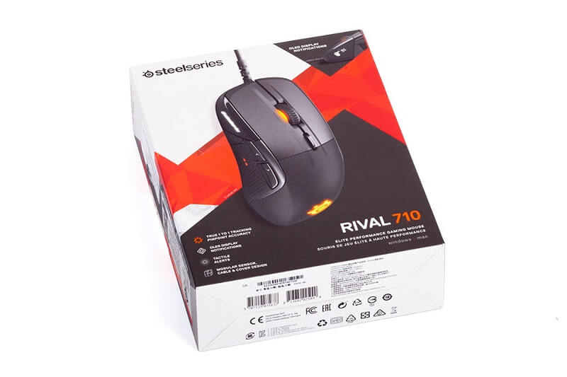 SteelSeries Rival 710 Packaging