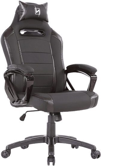 N Seat Pro 300 Racer Style Black PC Gaming Chair