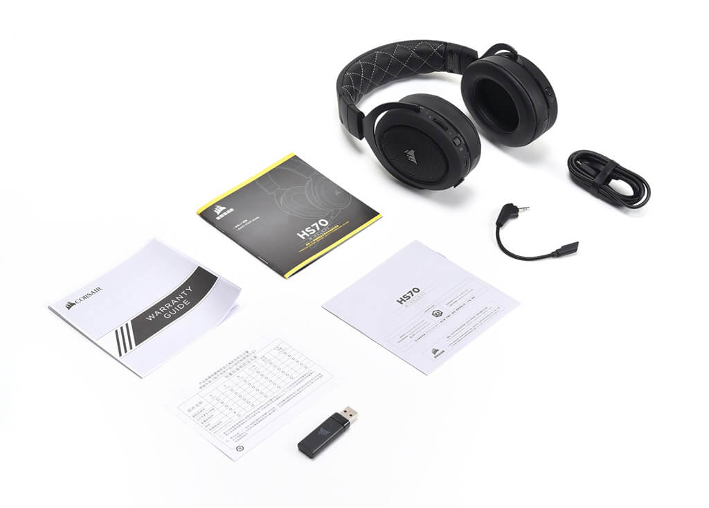 Corsair HS70 Accessories